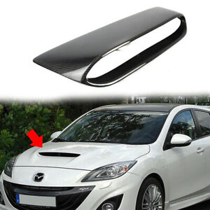 Fit For Mazda 3 2nd 4dr 5dr Fits Mps Mazdaspeed Front Hood Scoop Vent Carbon