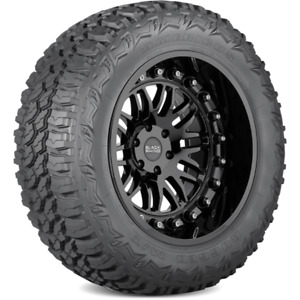 Set Of 4 Americus Rugged M T Mud Terrain Tires 35x12 50r20 125 Q Lrf 12ply