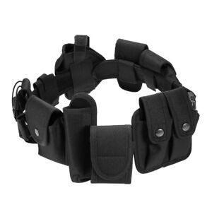 Outdoor Tactical Belt Law Enforcement Modular Equipment Police Security H5z0