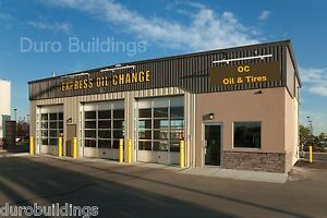 Durobeam Steel 30x80x15 Metal I beam Garage Shop Buildings Made To Order Direct