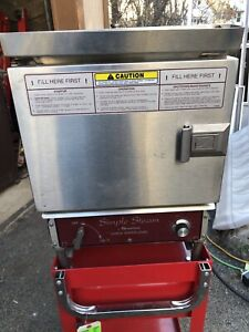 Southbend Simple Steam Ez 3 Commercial Electric Steam Oven Steamer Ez3