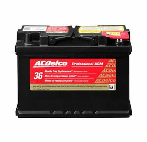 Acdelco 48agm Battery