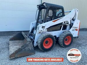 2018 Bobcat S570 Skid Steer Orops Hand foot Control Aux Hyd 140 Hours 61 Hp