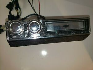 Rare Vtg 1969 Chevrolet Chevelle Nova Camaro 8 Track Player Under Dash Mount