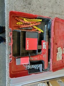 Hilti Dx 350 Powder Actuated Fastening Systems Nail Gun Kit With Case Extras