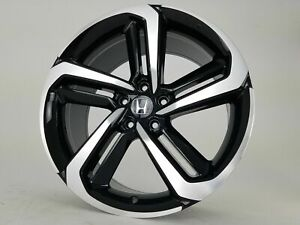 4x 20 x8 5 Black Machine 2018 Accord Sport Rims Wheels Honda Acura Hfp Civic