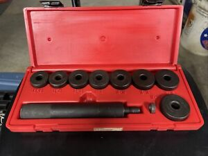 Snap on Bushing Driver Set A 158b Heavy Duty Automotive Tool Kit