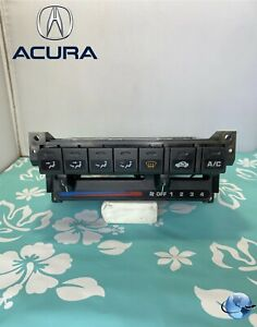 94 01 Acura Integra A c Climate Control Switch Heater Control Unit Oem