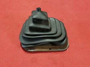 80 86 Ford Truck Bronco 4 Speed Manual Shift Rubber Boot With Metal Ring