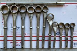 11 Snap on Boxockets Box End Breaker Wrenches W One Snap On Handle Wrench Set