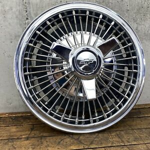 1964 66 Chevy Impala Chevelle Spinner Flipper Wire Wheel Cover Hub Cap 1