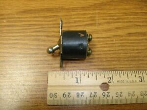 Vintage Ball Tip Toggle Switch Guitar Audio Tube Amp Radio Single Pole Spst