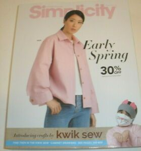 Simplicity Sewing Pattern Counter Catalog Early Spring 2021 Fashion Student