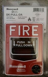 Honeywell Sk pull da Manual Fire Alarm Pull Station Dual Action Addressable