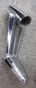 1960 1961 Mopar Chrysler Dodge Plymouth Door Mirror Arm Base Three Strut Chrome