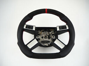 Dodge Charger Challenger Srt Magnum Flat Bottom Include Steering Wheel 12strap