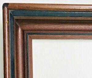 Antique Fits 8 X 10 Victorian Walnut Wood Fine Art Picture Frame Frame Country