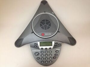 Polycom Soundstation Ip 6000 2201 15600 001 Hd Voice Conference
