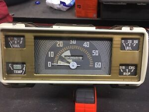 Ford 1940 1941 1946 1947 Truck Pickup Instrument Panel Speedometer Cluster Gauge