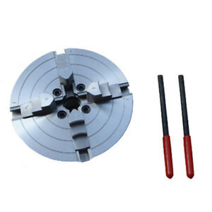 6 150mm Jaw Lathe Chuck Self centering Grinder Step Cnc Mill Hardened Steel