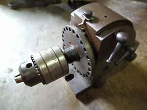Toolmakers Dividing Head Chuck Milling Machine Gear Spline Cut