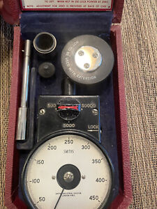Smiths English Vintage Tachometer Ath4 With Case And Accessories