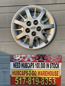 Chevrolet Impala 2000 05 Nice Used Hubcap Oem 16 Repainted Textured Some Flaws