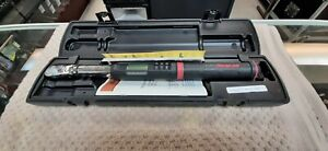 Snap on Digital Torque Wrench Atech2fr125b Great Condition Free Shipping
