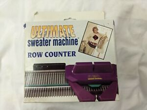 Row Counter Ultimate Sweater Machine knitting In Original Damaged Box New