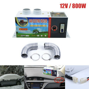 Portable Car Heater Cooling Fan Car Defroster Fast Heating 12v 800w Universal