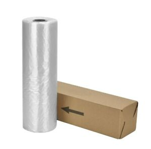28x38 Clear Plastic Bag Roll For Small Items 377ct