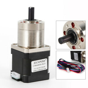 High Torque Nema 17 Stepper Motor With 1 27 Planetary Gearbox Cnc Robot 12 v