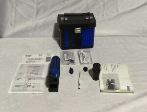 Drager Accuro Manual Multi Gas Detector Test Tube Pump With Accessories Case