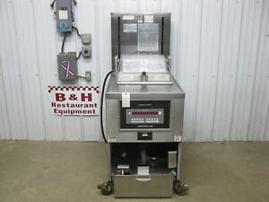 Henny Penny 591 High Volume Electric Chicken Pressure Fryer W Filter System