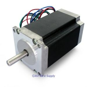 Cnc Router Mill Machine Diy Part Nema 23 307oz in Stepper Motor High Torque