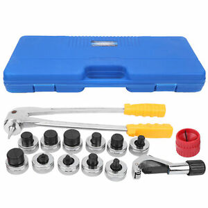 11 Lever Hydraulic Tube Expander Sets Manual Copper Aluminum Expanding Tool