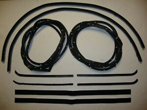 1955 1956 1957 1958 1959 Chevrolet Gmc Pickup Truck Door Weatherstrip Seal Kit