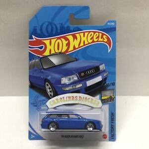 2021 Hot Wheels H Case 157 94 Audi Avant Rs2