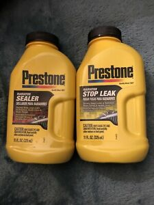 Prestone Radiator Sealer Stop Leak 11 Oz 325ml As145 as120 2