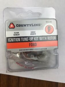 Countyline Tune Up Kit With Rotor Ford Sku 0236334 Points condenser And Rotor