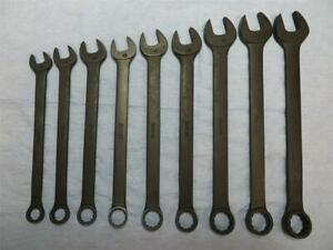 New Snap On Metric Combination Wrench Set Goexm Black Oxide Industrial Finish 9