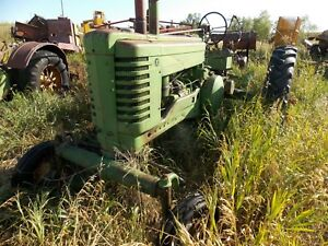 Antique Model A Wide Front Tractor 1