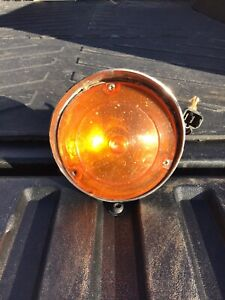 Amc Javelin Amx 1968 1969 Hooded Park Light Assembly Left Or Right Free Shipping