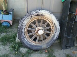 Model A Ford Wood Spokes Wheels And Tires