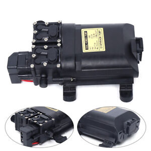 12v 60w High Pressure Micro Diaphragm Water Pump 123psi Car Caravan Boat 9l min