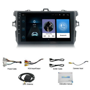 Fit For Toyota Corolla 06 2012 9 Gps Android 9 1 Car Quad Core Radio Wifi Bt