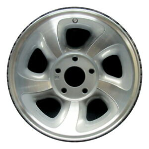 ships Today Wheel Rim Chevy Gm Blazer Jimmy S15 S10 Sonoma Machined Argent Oe