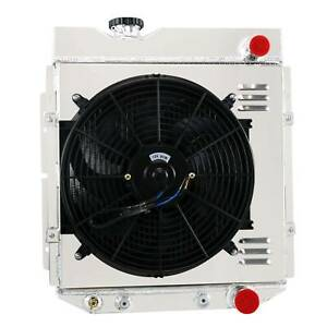 4 Row Radiator Shroud Fan Fits 1964 1966 Ford Mustang Falcon mercury Comet At