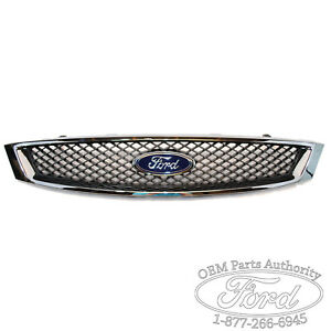 New 2005 2007 Ford Focus Oem Chrome Grill Sedan coupe
