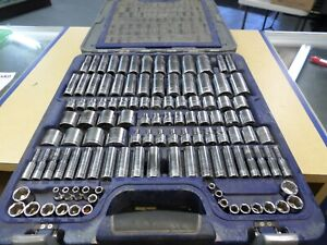 Blue Point 155 Piece Socket ratchet Set Blpgssc155